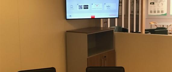 Equipement de salles de réunion sans câble