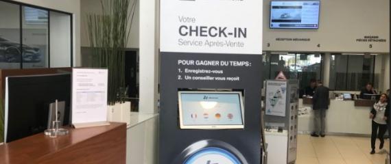 Le groupe BMW Bilia Emond équipe ses ateliers d'écrans d'information