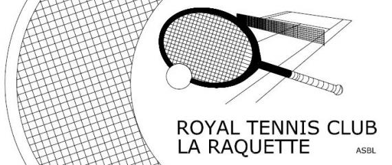 Ecran tactile pour les réservations au sein d'un club de tennis