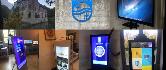 Digital days Philips 2019: Nouveautés en écrans, bornes, totems, poster écran,...