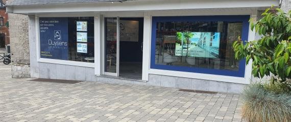 Ecran vitrine Immobilière à Rochefort