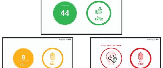 Un outil de contrôle des visiteurs grâce à vos caméras et écrans