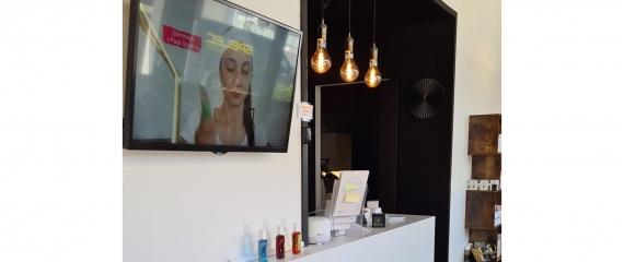 3 instituts de beauté équipés avec des écrans au Luxembourg