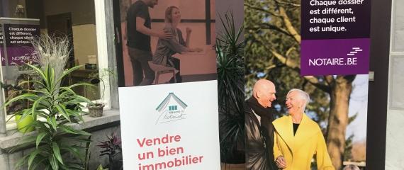 Séances d'information dans les 3 maisons du notariat du Hainaut