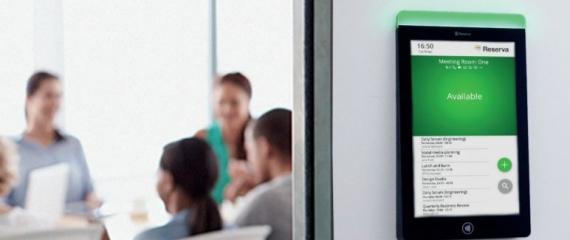 Tablette de réservation et gestion de salles de réunion
