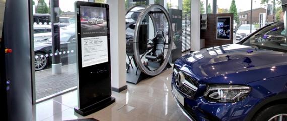 L'écran totem est une solution d'affichage percutante et mobile