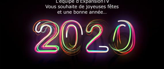 Meilleurs voeux pour cette nouvelle année!