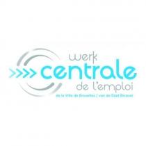 Deux écrans à l'accueil de la Centrale de l'emploi à la ville de Bruxelles - Expansion TV affichage dynamique digital signage - Références