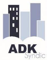 Tableaux blancs tactiles en salle de réunion pour ADK Syndic à Liège - Expansion TV affichage dynamique digital signage - Références