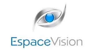 Ecran haute luminosité en vitrine de l'opticien Espace Vision de Fosses-la-Ville - Expansion TV affichage dynamique digital signage - Références