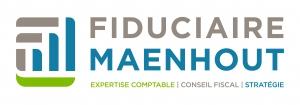 Ecran d'affichage dynamique au sein de la Fiduciaire Maenhout - Mont-sur-Marchienne - Expansion TV affichage dynamique digital signage - Références