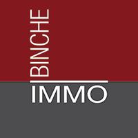 Un écran vitrine pour l'agence immobilière et d'assurance Binche Immo - Expansion TV affichage dynamique digital signage - Références