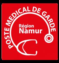 Un système de gestion de file d'attente au Poste Médical de Garde à Jambes (Namur) - Expansion TV affichage dynamique digital signage - Références