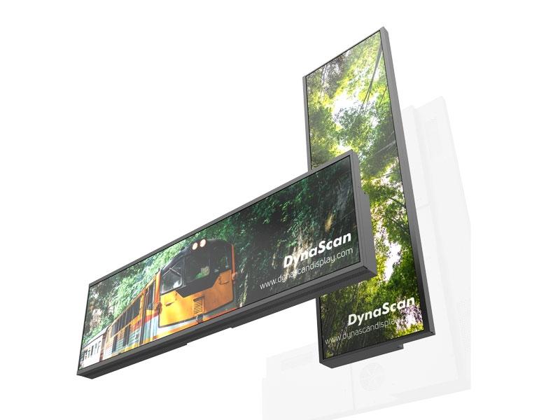 ECRAN VITRINE HAUTE LUMINOSITE 3000cd/m² - 37'' - Dynascan - Expansion TV  - Affichage dynamique