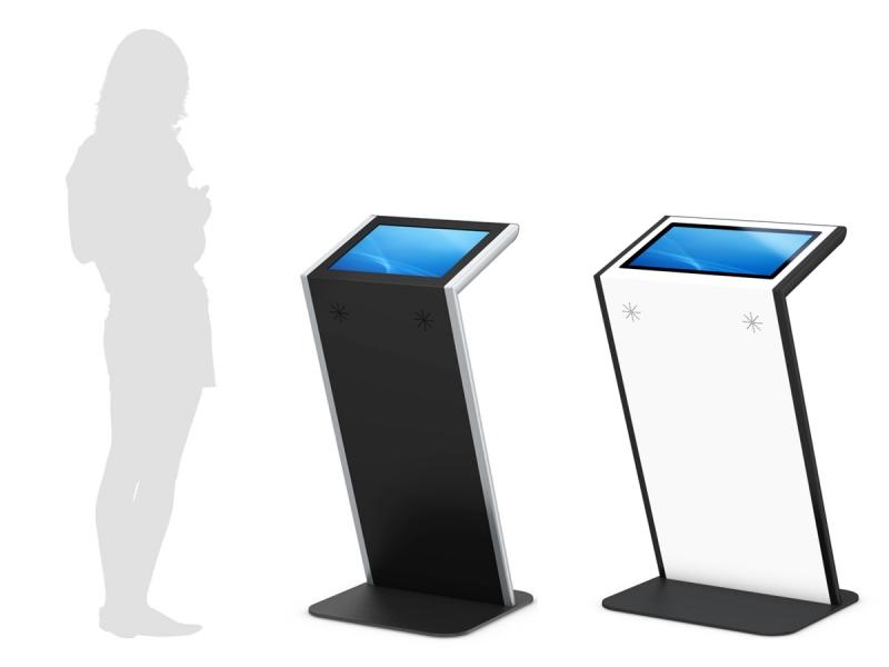 Bornes tactiles - Kiosk 19'' et 21.5'' personnalisable - indoor - Expansion TV  - Affichage dynamique