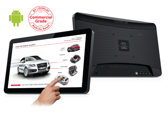 Ecran interactif iDisplay Tablet 18.5