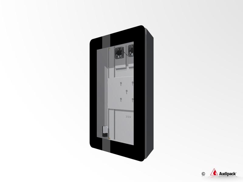 CAISSON DE PROTECTION VERTICAL -  FDP-55P Audipack - Expansion TV  - Affichage dynamique
