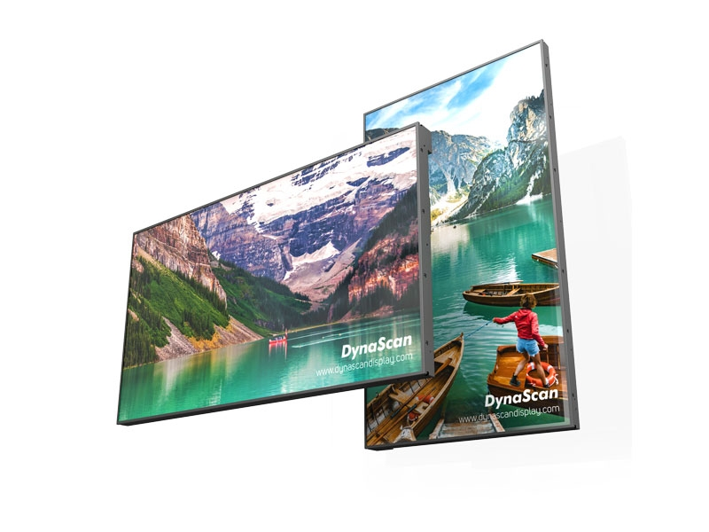 ECRAN VITRINE HAUTE LUMINOSITE 3500cd/m² - 49'' - Dynascan - Expansion TV  - Affichage dynamique