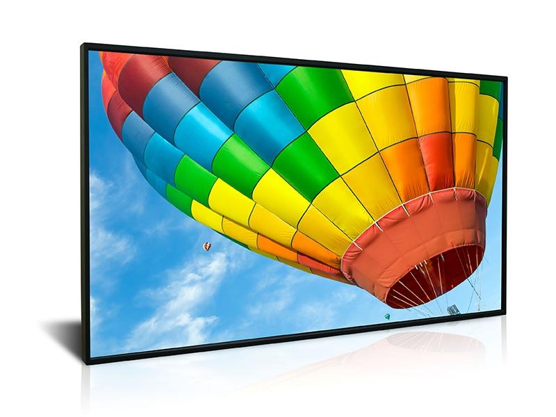 Ecran vitrine haute luminosité - 4000 cd/m² - 65'' - Dynascan - Expansion TV  - Affichage dynamique