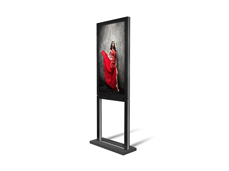 Ecrans vitrine double face - 3000cd/m² & 1000 cd/m² - Dynascan - Expansion TV  - Affichage dynamique