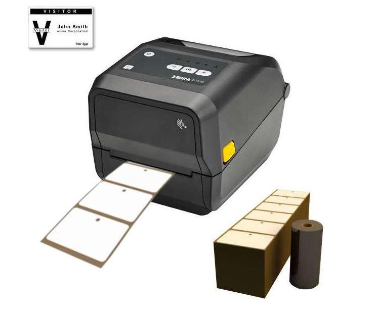 imprimante de badge cartonné Zébra - kit complet - Expansion TV  - Affichage dynamique