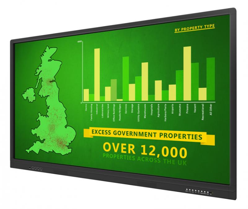 TABLEAU INTERACTIF - ENTREPRISE - 65''  - Expansion TV  - Affichage dynamique