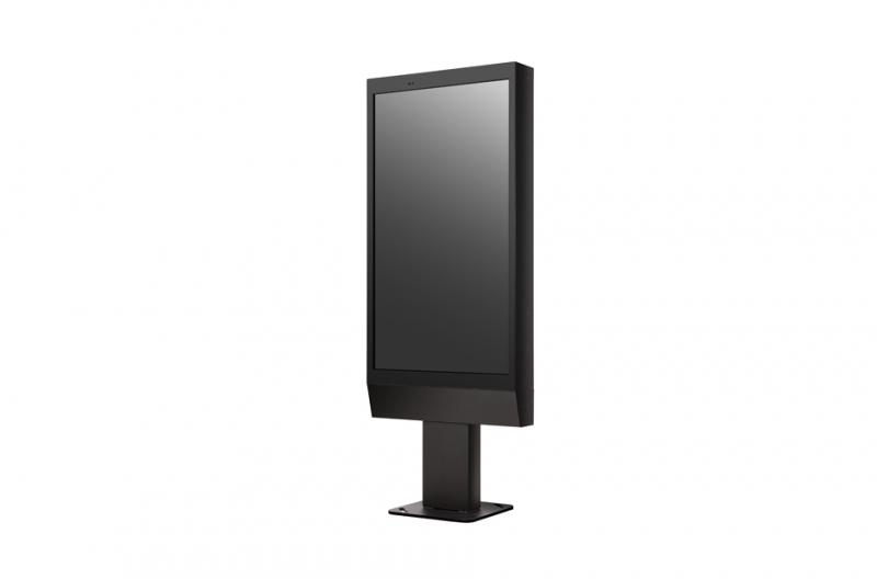 TOTEM (non tactile) 49'' 55'' 75'' écran OUTDOOR - Marque LG min 3 000cd/m² - Expansion TV  - Affichage dynamique