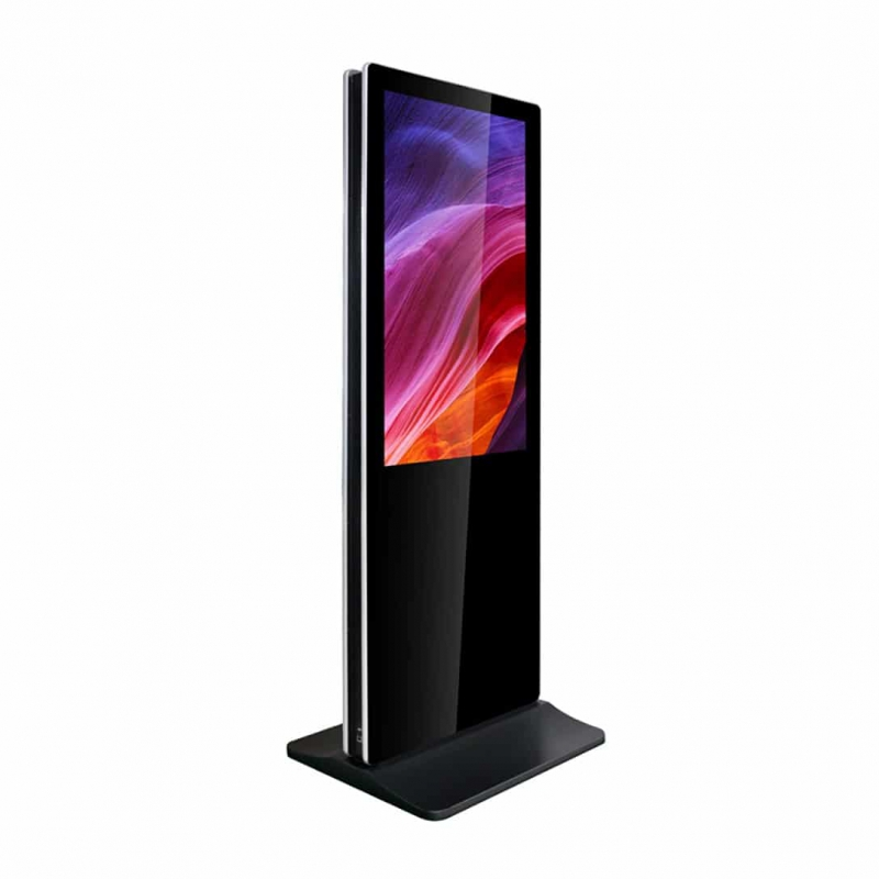 TOTEM TACTILE DOUBLE 43'' (109 cm) - APPOLON (LBM) - Expansion TV  - Affichage dynamique