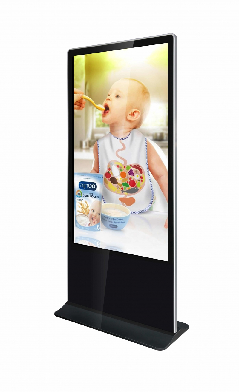 TOTEM TACTILE 65'' (165 cm) - APPOLON - Expansion TV  - Affichage dynamique